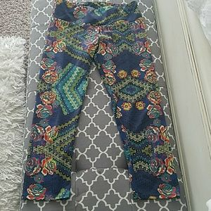 Onzie yoga crop leggings s/m